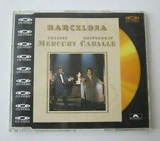 "Freddie Mercury : Barcelona 1988 CD Video 5"" CDV Maxi Single Polydor (Queen)"