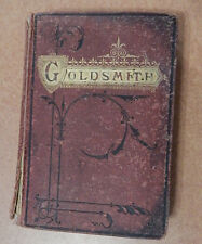 Goldsmiths' Poems The of Oliver Goldsmith Dec 25, 1873 inscription Leavitt Allen