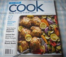Recipe magazine, Cook, 2018, 67 recipes, 113 pages, sheet pan, Instant Pot