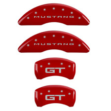 MGP Caliper Cover FRONT+REAR for Ford 15-17 Mustang GT 10200S2MGRD