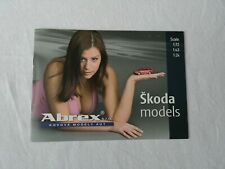 Abrex SKODA Modellautos Katalog 2005 models catalogue brochure Prospekt