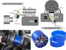 TURBO F1-Z Air Intake Gas Fuel Saver SINGLE Propeller Fan Universal Fit Turbine