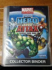 Topps Hero Attax Marvel Avengers complete set 200 cards + specials, binder etc