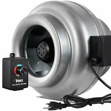 "iPower 10"" Inline Duct Ventilation Fan & Variable Speed Controller"