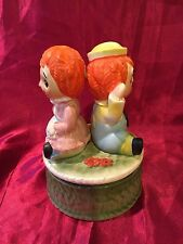 Vintage Raggedy Ann and Raggedy Andy Vintage Music Box