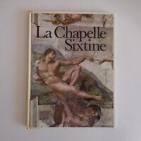 La Chapelle Sixtine 1976 LUTZ HEUSINGER art peinture architecture Italie N76223