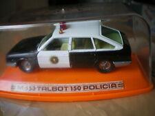 Talbot 150 Policia = Chrysler 1510 1/43 M-553 Pilen Spain 1979 Neuf Box MiB RARE