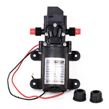 130PSI DC 12V 6L/Min Water High Pressure Diaphragm Pump Self Priming 6A 72W