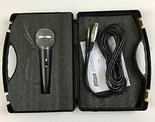 Cordova Microphone - On/Off Switch With Chord In Plastic Case