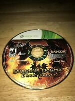 Dragon's Dogma: Dark Arisen (Microsoft Xbox 360, 2013) Working Game Only