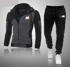 BMW Autos Trainingsanzug Sportanzug Jogginganzug Hoodie Sweatshirt + Hose Set