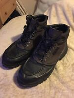 FILA Weathertec Men's Size 11 ~ Black / Brown Ankle Boots Shoes