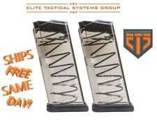 TWO x ETS Elite Tactical Systems 9-Round Magazines for Glock 27 * 40 S&W  GLK-27
