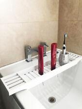 Bamboo Wooden Bath Tub Rack Caddy Bathroom StorageShelf Tidy Tray Organiser Gift