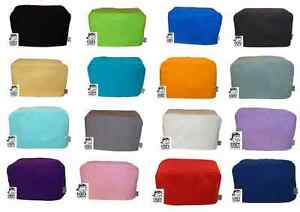 CozyCoverUp® for Toaster  (2,4 and Dualit) Dust Cover Plain Colours 100% Cotton