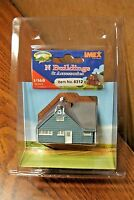IMEX N SCALE LEVITTOWN RANCHER HOUSE BUILT-UP BUILDING