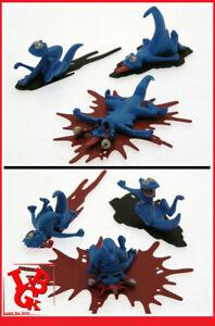 Lot 2x Packs de 3 SCHFOUMPFS Statue Attakus Troll Troy Mourier Lanfeust # NEUF #