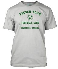 BOB MARLEY inspired TRENCH TOWN Football Club RINGER, Men's T-Shirt