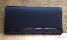 Vintage Black Clutch Handbag/1950's/60's/Satin Lk/Retro/Rockabilly/Evening Wear