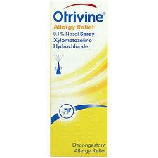 Otrivine Allergy Relief Nasal Spray 10ml