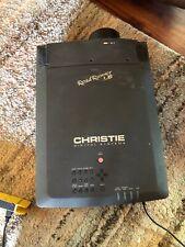 Christie Roadrunner L6 LCD Video Projector Made in Japan Huge As Is Read
