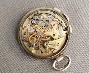 Rare vintage watch chronograph 1942 VENUS 152 first edition valjoux 22 23