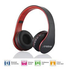 4in1 Wireless Bluetooth Stereo Bass MP3 FM Headphone Headset For iPhon