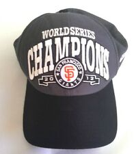 San Francisco Giants World Series 2012 Official On-Field Cap M / L New Era