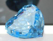 Swarovski Figur Paperweight Herz in Blau