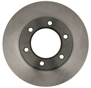 Disc Brake Rotor-Non-Coated Front ACDelco Advantage 18A35A
