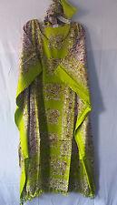 "Women Kaftan Caftan Maxi Long Dress Cover Up Dashiki Hippie Plus size 66"" around"