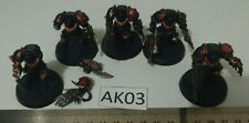 Chaos Space Marine Terminators (5 Plastic) Warhammer 40k - AK03