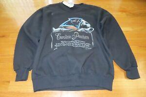 Vintage Nutmeg 1993 CAROLINA PANTHERS Expansion Team (LG) Sweatshirt w/ Tags