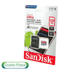 NUOVO SanDisk 128 GB Ultra 667x 100MB/s Class 10 UHS-I micro sd Scheda di memoria SDXC UK