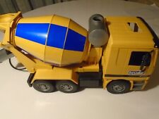 Bruder Cement Mixer Mercedes Toy Truck MX 5000 used (Missing Pieces) clean item