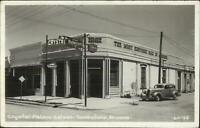 Tombstone AZ Crystal Palace Saloon Real Photo Postcard