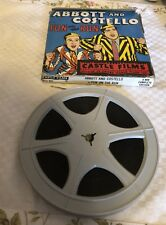 8 MM Castle Films Abbott & Costello Fun In The Sun #811