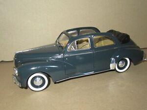 863P Solido 8156 Peugeot 203 Discoverable 1954 Dark Grey 1:18