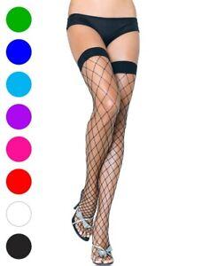 Fence Net Thigh High Stockings - Leg Avenue 9014