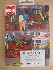 HO - Busch - ref.1209 - Maceteros con flores
