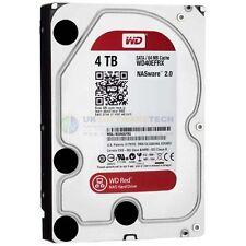 """Western Digital Rojo 4 Tb Sata 6 Gb/s 64 MB de caché 3.5 """"NAS de almacenamiento adjunto en red"""