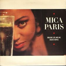 """MICA PARIS breathe life into me/in the city BRW115 uk 4th & broadway 7"""" PS EX/EX"""