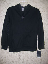 """Boy's """"Tap Out"""" Tapout Signature Zip-Up Hoodie Jacket  (Black) Size Medium 10/12"""