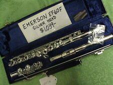 Emerson Flute Model EF60F-Silver Head-NOS-USA Made! Warranty! Great Deal!
