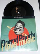 "DARRYL PANDY - I Love Music 1990 UK Eternal DJ PROMO 7"""