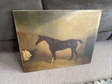 Oil Of Horse James Clark Framed