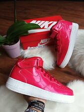Details about Nike Air Force 1 Mid '07 Men's Size 16 University Red Sail Gum 315123 607