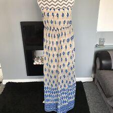 Femme Plaine Boob Tube bustier près du corps Extensible Long Femme Midi Robe UK 8-22