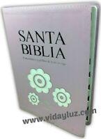 BIBLIA REINA VALERA 1960 LETRA GIGANTE DE 14 PUNTOS IMI* PIEL ROSADO CON INDICE