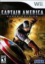 Captain America: Super Soldier  --  Nintendo Wii Game Complete  ***Guaranteed***